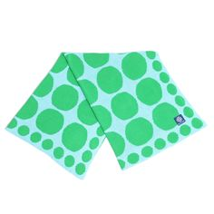 Connect the Dots Lime Knit Stroller Blanket @Layla Grayce