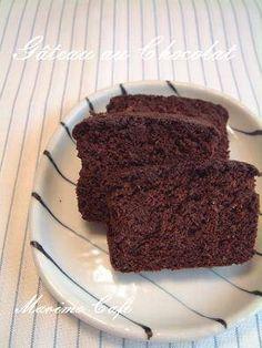 おからでチョコケーキ <ノンオイルでヘルシーに!> : marimo cafe ―可愛くて美味しいお菓子レシピ―