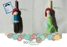 Διαγωνισμός: Κερδίστε μια Πασχαλινή λαμπάδα Γοργόνα ή Πειρατή από το Sofan Handmade!
