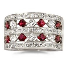 Diamond & Ruby ring. :)