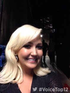 Backstage with Meghan Linsey #VoiceTop12!
