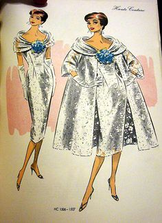 Vintage Haute Coutute Sewing Patterns