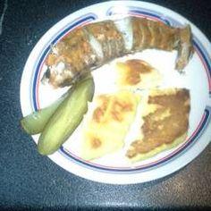 Tepsiben sült hekk MiCsillától | MiCsilla receptje - Cookpad receptek Pancakes, Oatmeal, Breakfast, Food, The Oatmeal, Morning Coffee, Meal, Crepes, Essen