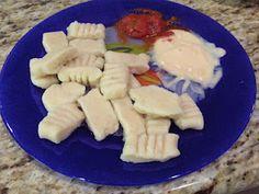 Home made potato Gnocchi.  Food storage recipe.  Simple and tasty.