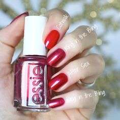 This year I've really figured out my absolute favourite nail polish colours Essie Nail Polish Colors, Nail Polish Dupes, Best Nail Polish, Nail Polish Art, Nail Art, Cute Nails, Pretty Nails, Diy Nails, Glitter Nails