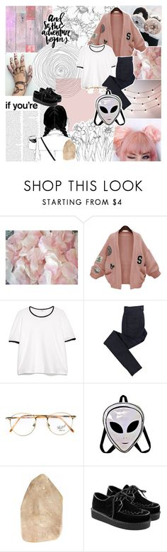 """""""[💞] we'll meet again tomorrow"""" by korekara ❤ liked on Polyvore featuring WithChic, MANGO, C.R.A.F.T. and Persol"""