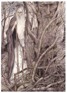 Gandalf the White by Peter Xavier Price