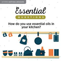 How do you use oils in the kitchen? Essential oil questions. www.instagram.com/essentialoilswithbetsy
