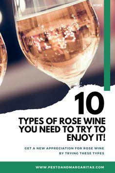 There are no shortage of rose wines out there but how do you find the right one for you? Well, to help you out here are 10 rose wines you want to try even if you have never drank rose wine before. New Year's Drinks, Fun Cocktails, Wine Drinks, Cocktail Recipes, Alcoholic Drinks, Beverages, Dry Rose Wine, Wine Slushie Recipe, Types Of Red Wine