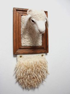 Needle-felted wool work done by Zoe Williams.