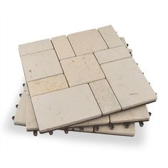 Garden Winds Venetian Stone Deck Tiles - Box of 10 Composite Flooring, Deck Flooring, Hardwood Decking, Outdoor Flooring, Outdoor Tile Over Concrete, Outdoor Tiles Floor, Landscaping Around Deck, Landscaping Retaining Walls, Pallet Patio Decks
