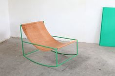 A New Chair by Muller van Severen, a furniture project by the creative couple Fien Muller and Hannes Van Severen from Belgium
