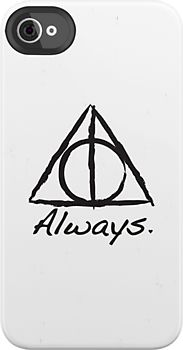 Deathly Hallows iPhone cover! I want this one!!!