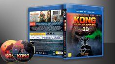 Kong - A Ilha Da Caveira (Blu-Ray + Blu-Ray 3D) - Capa | VITRINE - Galeria De Capas - Designer Covers Custom | Capas & Labels Customizados