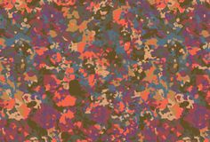 camouflage floral print