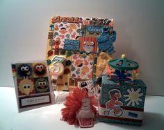 3rd SESAME STREET BIRTHDAY Gift Set for 3 Year by CathysCraftWorld