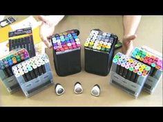 art studio, noir pen, noir marker, card, colour tutori, spectrum noir, pens
