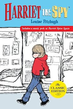 Harriet the spy is technically a spy and not a detective. Although she does solve the mystery of what happens when someone finds your book of nasty notations about people. From Harriet the Spy by Louise Fitzhugh Books You Should Read, Books To Read, Pick Up, Detective, Harriet The Spy, Good Books, My Books, Amazing Books, Story Books