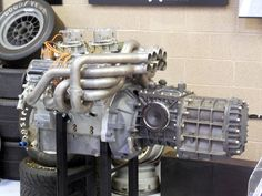 Ford GT-40 engine and transaxle