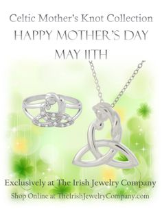 Exclusively at The Irish Jewelry Company!  Shop Online at http://www.TheIrishJewelryCompany.com/