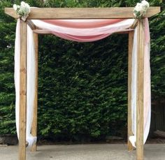 wood wedding arch hire geelong wedding planning