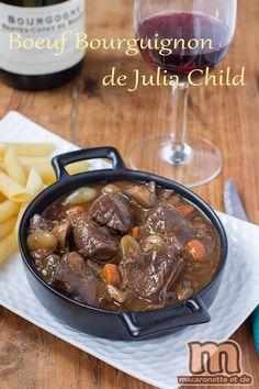 Boeuf bourguignon de Julia Child - Macaronette et cie