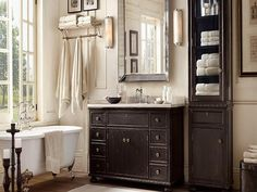 20+ Restoration Hardware Bathroom Cabinets - Best Interior Paint Colors Check more at http://1coolair.com/restoration-hardware-bathroom-cabinets/