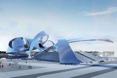 dubai gateway by coop himmelblau  #architecture ☮k☮
