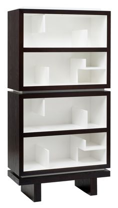 Storytime Double Bookcase   Each unit consists of a case with a back and fixed interior dividers. Units can stack two-high with an anti-tipping kit for added safety.