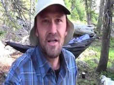 Ultralight Hammock Backpacking High Uinta Mountain Lakes, Fishing For Trout (short) - YouTube