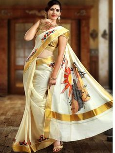 New Stylish Kerala Bridal Wear Saree Collections For Women. Kerala Bridal Saree Collections Designs 2015 With Colors and Prices given here are the attire