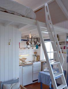 Mullarkey's Chalet - ladder to loft Irish Cottage, Luxury Holidays, Ladder Bookcase, Renting A House, Bliss, Ireland, Loft, Shelves, Homes