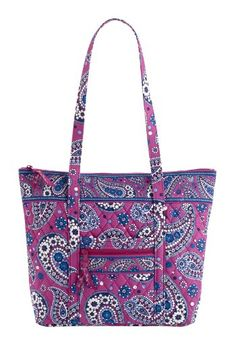 $72.00-$72.00 Handbags  Vera Bradley Villager in Boysenberry - A popular choice! great bag with top zipper closure and 6 inside pocket. has one slip and one zip outside pocket as well. http://www.amazon.com/dp/B004JHQ28E/?tag=pin0ce-20