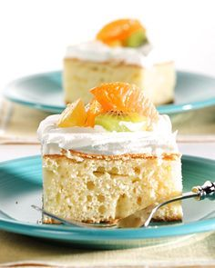 Tres Leches Cake - Martha Stewart Recipes  I'm going to use almond meal instead of flour