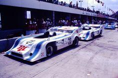 (23) Charlie Kemp - Porsche 917/10 TC - Rinzler Motoracing-Royal Crown Cola - (16) George Follmer - Porsche 917/10 TC - Rinzler Motoracing-Royal Crown - 6-Hours and The Can-Am - Can-Am Watkins Glen - 1973 Canadian-American Challenge Cup, round 3