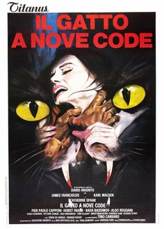 The Cat o' Nine Tails (Il gatto a nove code) 1971 - Horror - Giallo - Movie - Poster - Dario Argento - flimmerstube.com - The number one source for german and english language horror movies !!! flimmerstube.com - die Horrorfilm-Seite im Netz!