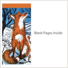 Fox In Snow - To Do Pad (PAD CB1 01) | Greeting Cards and Stationery