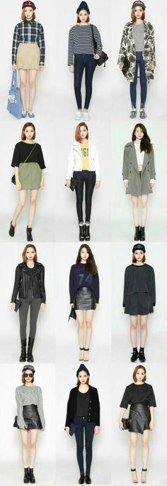 55 Super Ideas For Moda Outfits Ideas Casual Street Styles Korea Fashion, Kpop Fashion, Asian Fashion, Trendy Fashion, Fashion Looks, Womens Fashion, Fashion Trends, Korean Street Fashion Urban Chic, Fashion Ideas