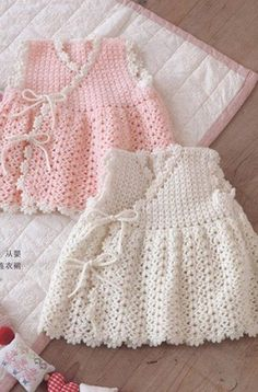 """Crochet Baby Dress   Free Crochet Diagram Pattern. [   """"Baby Crochet Dress Pattern Free a"""",   """"Crochet Baby Dress - Free Crochet Diagram - (clubmasteric) - use pattern for tan Crochet Cardigan and lengthen or use dress bottom -"""",   """"two fishnet dress with a smell for girls crochet. schemes of baby crochet dresses photo: liveinternet."""",   """"Crochet: kids - graph only"""",   """"Cro hey newborn dress ♥LCK-MRS♥ with diagrams."""",   """"Dress for girls. Discussion on LiveInternet - Russian Service Online…"""