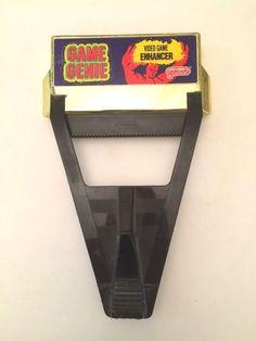Galoob Game Genie 1990 Game enhancer for Nintendo NES #Galoob