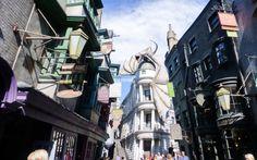 Zu Gast in der Welt von Harry Potter in den Universal Studios in Orlando, Florida © Viktoria Urbanek