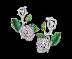 Dior Haute Joaillerie - Le Bal des Roses - earrings Bal de Mai