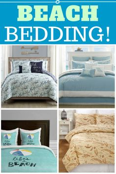 Discover the best coastal bedding sets and beach bedding sets. You will love our beach home bedding sets like comforters, quilts, and duvet cover sets. Beach Bedding Sets, Coastal Bedding, Bed In A Bag, Beach Themes, Sheet Sets, Duvet Cover Sets, Beach House, Comforters, Throw Pillows