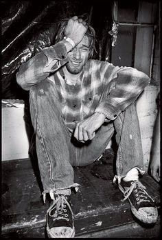 Boddah Cobain llorando
