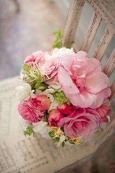 Shabby Flowers ✿⊱╮