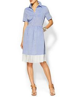 Can't get enough chambray? Check out our chambray dress by Rhyme Los Angeles