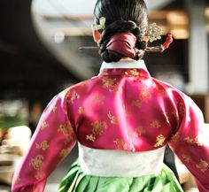 한복 hanbok, Korean traditional clothes