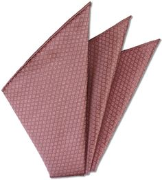 Thai Brocade Silk Pocket Square # 13