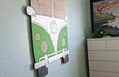 Kinderzimmer Deko selber machen bus