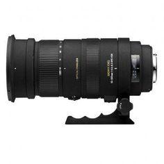 Sigma 50-500mm F4.5-6.3 APO DG OS HSM Telephoto Lens for Nikon